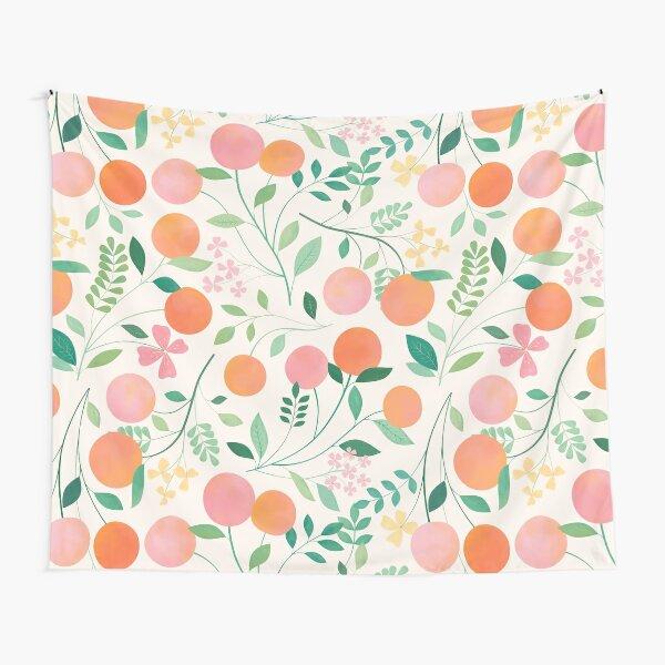 Vanilla Peaches Tapestry