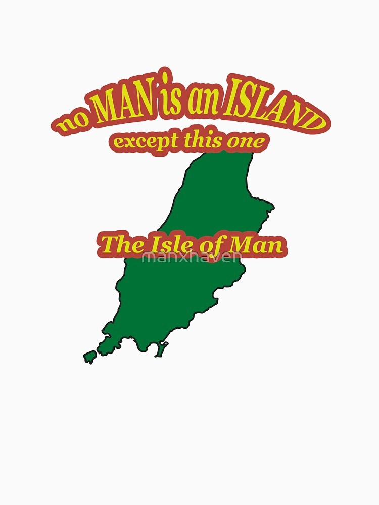 No Man Is an Island  by manxhaven