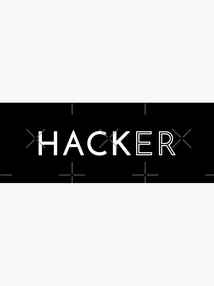 Hacker by developer-gifts