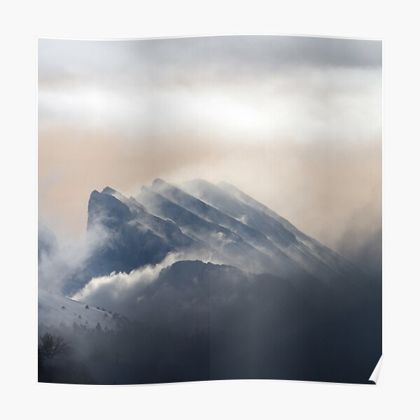 French Alps Poster