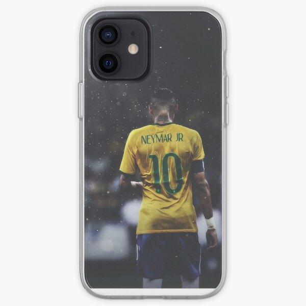 Neymar Junior | 10 | Selección nacional de brasil Funda blanda para iPhone