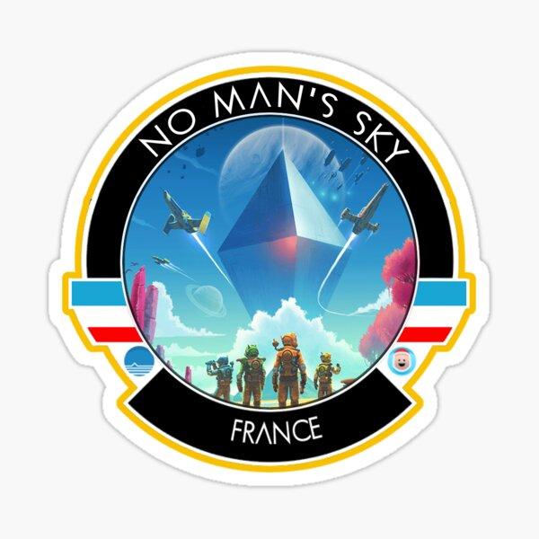 Logo No Man's Sky France Sticker