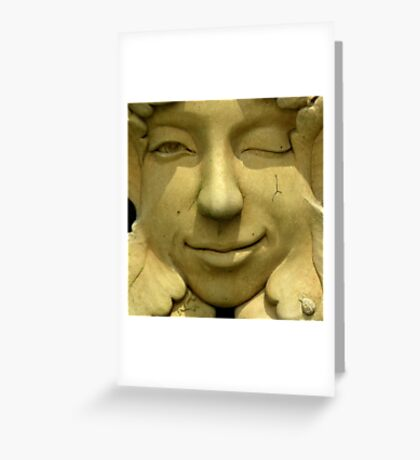 Don't Worry, Be Happy ! Greeting Card