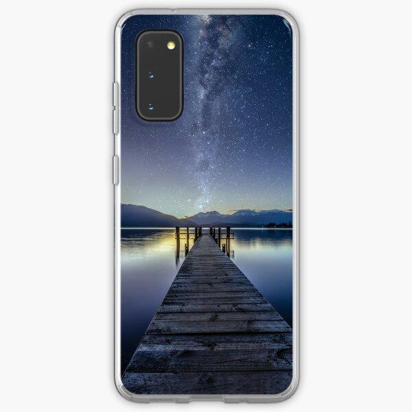 See Te Anau Milchstraße Samsung Galaxy Flexible Hülle