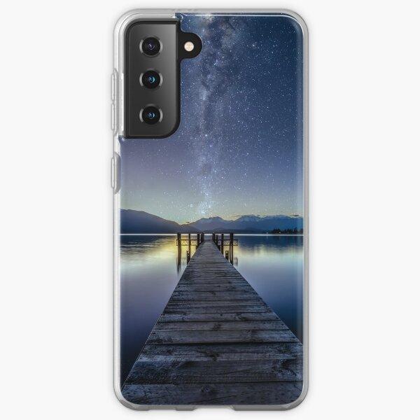 Lake Te Anau Milky Way Samsung Galaxy Soft Case