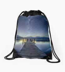 Lake Te Anau Milky Way Drawstring Bag