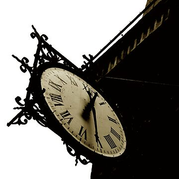 clock of St Louis en l'Ile Church #1 by ragman