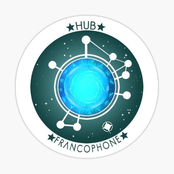 Logo du HUB-FR Sticker