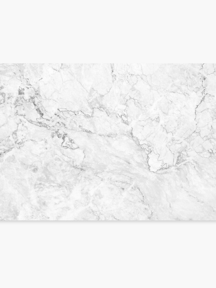 . White Marble texture floor background with pale gray grey texture greek  marble print luxuous real marble   Canvas Print