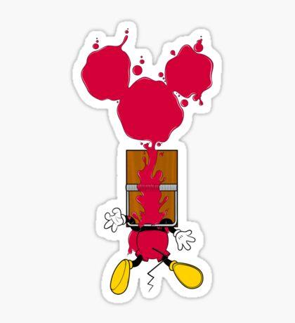 Mouse trap Sticker