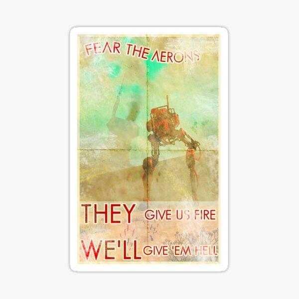 Affiche de Propagande N°1 Sticker