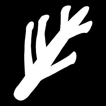 Lovecraftian Elder Sign - White by MOREDANKMEMES