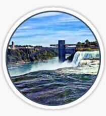 Niagara Falls NY - Prospect Point Observation Tower Sticker