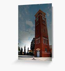 Heathcote tower Greeting Card