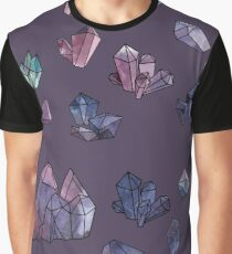 Amethyst minerals set Graphic T-Shirt