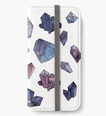 Amethyst minerals set iPhone Wallet/Case/Skin