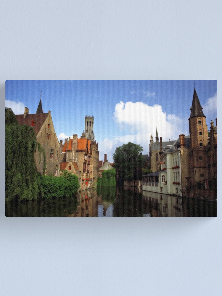 Alternate view of Bruges Canvas Print