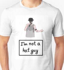 Ich bin kein Hut-Typ Slim Fit T-Shirt