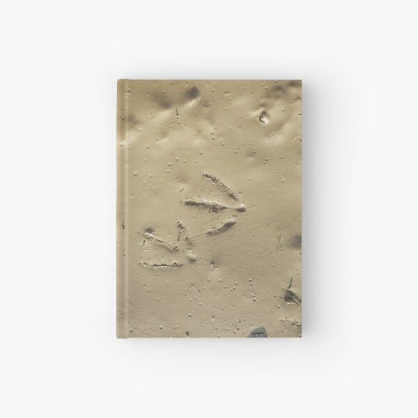 Muddy Bird Tracks Hardcover Journal