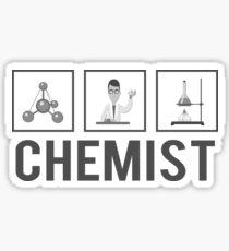 Chemist | Job Stickers Art Sticker
