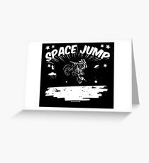 Space Jump Greeting Card