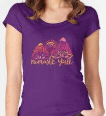 Namasté Y'all Women's Fitted Scoop T-Shirt