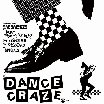 dance craze movie poster t shirt madness selector by vanitees5211