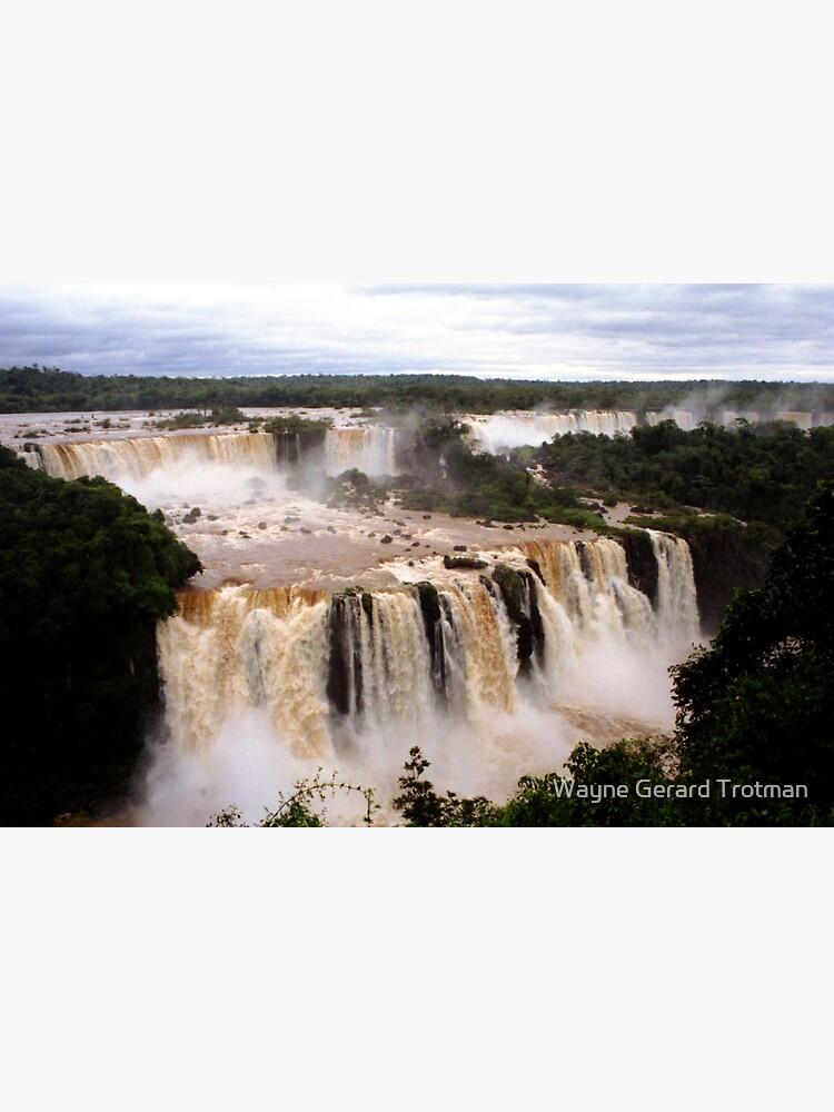 Iguazu Falls by redmoondragon