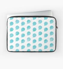 Kawaii Watercolour Ghosts (Ocean) Laptop Sleeve