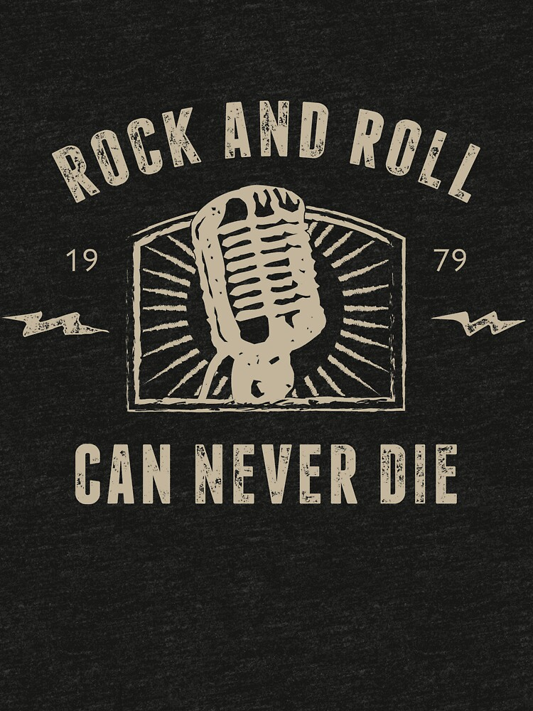 Rock And Roll Can Never Die by Daddylooonglegs