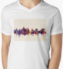 Galway Ireland Skyline Men's V-Neck T-Shirt