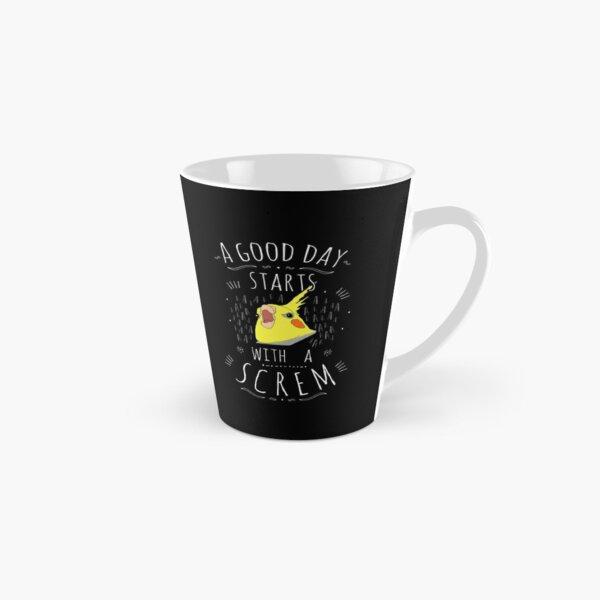 a good day starts with a SCREM  Tall Mug