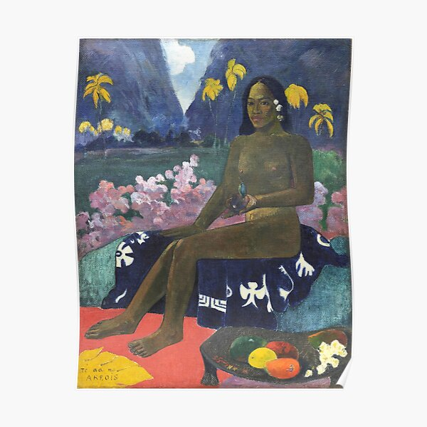 HD The Seed of the Areoi, by Paul Gauguin HIGH DEFINITION Poster