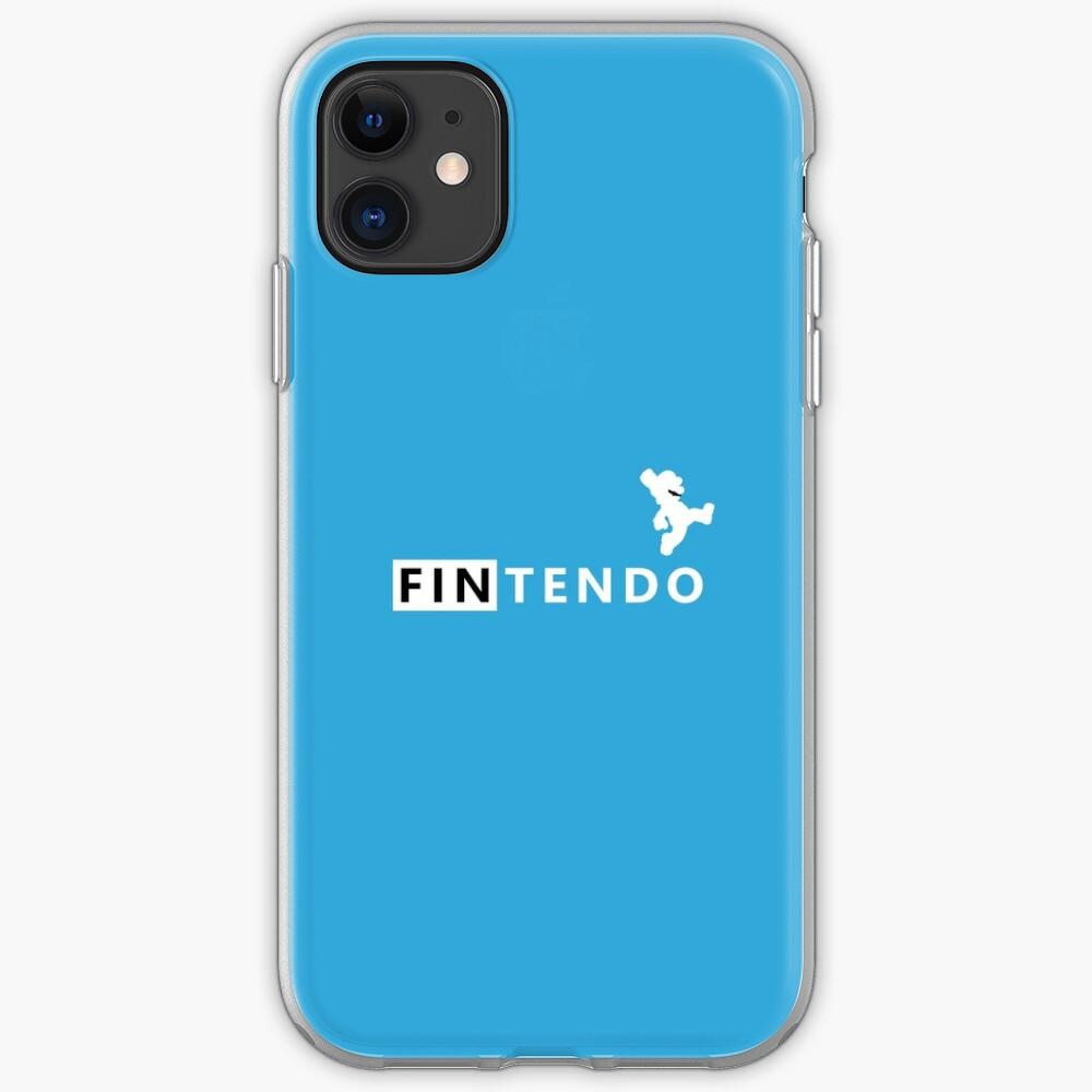 Fintendo Logo iPhone Case & Cover