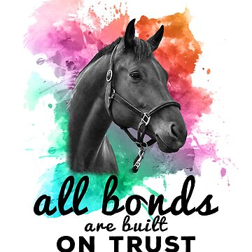 Inspirational Horse quote by beebold