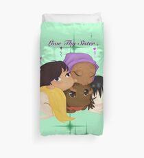 Love Thy Sister Duvet Cover