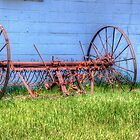 Old Farm Equipment by TJ Baccari Photography