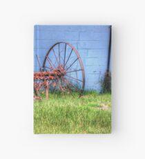 Old Farm Equipment Hardcover Journal