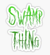 Swamp Thing - The thing from the swamp Sticker