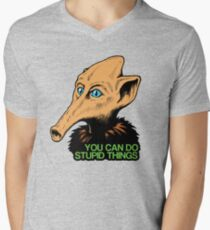 Trumpy- You Can Do Stupid Things Men's V-Neck T-Shirt