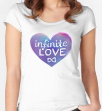 Infinite Love Fitted Scoop T-Shirt