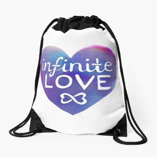 Infinite Love Drawstring Bag