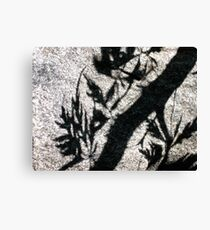 Ethereal Engraving Canvas Print