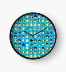 Super Smash Bros. Ultimate Character Stocks Clock