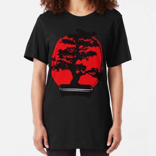 Cool Bonsai Tree Slim Fit T-Shirt