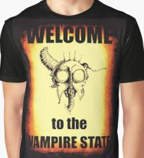 Welcome to the Vampire State Graphic T-Shirt