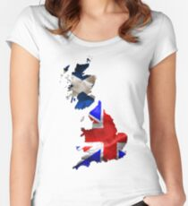 Scottish Independence Women's Fitted Scoop T-Shirt