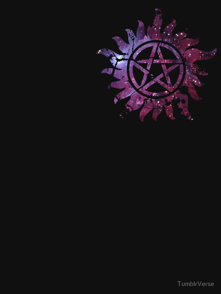 Supernatural Anti-Possession Galaxy Print | Unisex T-Shirt