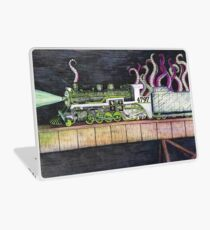 Octopus Train Laptop Skin