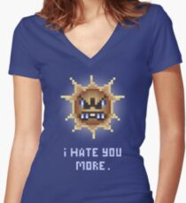 Sunny Hatred Women's Fitted V-Neck T-Shirt